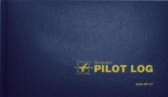 The Standard Pilot Log (Navy Blue): Asa-Sp-57 (Standard Pilot Logbooks) Cover Image