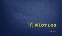 The Standard Pilot Log (Navy Blue): Asa-Sp-57 Cover Image