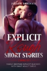 Explicit Rough Short Stories (2 Books in 1): Family Bedtime Explicit Quickies With Smut Adult Taboo Cover Image
