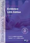 Blackstone's Statutes on Evidence Cover Image