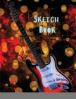 Sketch Book: Large Notebook for Drawing, Doodling or Sketching: 109 Pages, 8.5 x 11. Marble Background Cover Sketchbook Blank Paper Cover Image