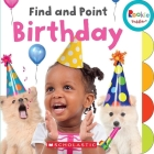 Find and Point Birthday (Rookie Toddler) Cover Image