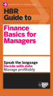 HBR Guide to Finance Basics for Managers (HBR Guide Series) (Harvard Business Review) Cover Image