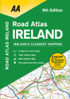 Road Atlas Ireland Cover Image