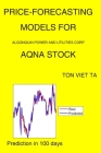 Price-Forecasting Models for Algonquin Power and Utilities Corp AQNA Stock Cover Image
