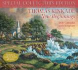 Thomas Kinkade Special Collector's Edition with Scripture 2020 Deluxe Wall Calen: New Beginnings Cover Image
