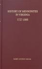 History of Mennonites in Virginia Cover Image