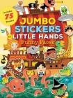 Jumbo Stickers for Little Hands: Funny Faces: Includes 75 Stickers Cover Image