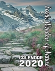 Scenic Wonders of Nature Calendar 2020: 14 Months of Beautiful and Natural Scenes Around the World Cover Image