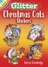 Glitter Christmas Cats Stickers (Dover Little Activity Books Stickers) Cover Image