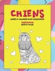 Livres à colorier pour adolescente - Niveau facile - Animaux - Chiens Cover Image