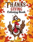 Thanksgiving Coloring Book: Over 60 Thanksgiving Unique Coloring Pages for Kids Cover Image