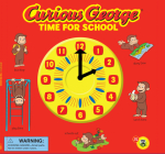 Curious George Time for School (CGTV Novelty 8x8) Cover Image