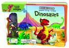 Dinosaurs Board Book [With Plastic Dinosaurs] Cover Image