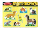 Pets Sound Puzzle [With Battery] Cover Image