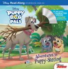 Puppy Dog Pals Read-Along Storybook and CD Adventures in Puppy-Sitting Cover Image