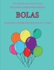 Livro para colorir para crianças de 7+ anos (Bolas): Este livro tem 40 páginas coloridas sem stress para reduzir a frustração e melhorar a confiança. Cover Image