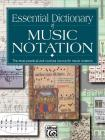 Essential Dictionary of Music Notation: Pocket Size Book Cover Image
