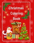 Christmas Coloring Book Cover Image