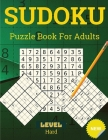 Hard Sudoku for Adults: Sudoku Puzzles Book Cover Image