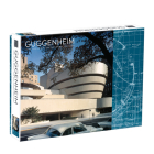 Frank Lloyd Wright Guggenheim 2-Sided 500 Piece Puzzle Cover Image