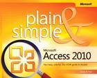 Microsoft Access 2010 Plain & Simple Cover Image