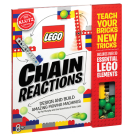 Lego Chain Reactions: Design and Build Amazing Moving Machines (Klutz S) Cover Image