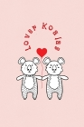 Lover Koalas: Valentine's Day Gift - ToDo Notebook in a cute Design - 6 x 9 (15.24 x 22.86 cm) Cover Image
