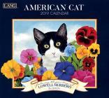 American Cat 2019 14x12.5 Wall Calendar Cover Image