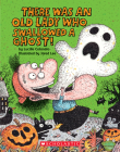 There Was an Old Lady Who Swallowed a Ghost!: Board Book (There Was an Old Lady [Colandro]) Cover Image