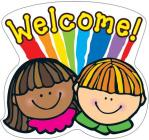 Welcome! 2-Sided Decoration Cover Image