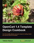 Opencart 1.4 Template Design Cookbook Cover Image
