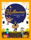 Halloween Coloring & Craft Book Cover Image