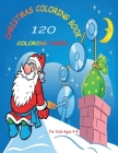Christmas Coloring Book for Kids: 120 Coloring Pages For Kids Ages 4-8 Cover Image