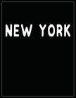 New York: Black and white Decorative Book - Perfect for Coffee Tables, End Tables, Bookshelves, Interior Design & Home Staging A Cover Image