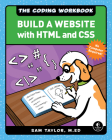 The Coding Workbook: Build a Website with HTML & CSS Cover Image