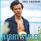 Harry Styles 2021 Calendar: Harry Styles 2021 Wall Calendar 8.5x8.5 Wall calendar 16 Months Cover Image