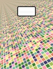 Graph Paper Notebook: Grid Paper Notebook 110 Sheets Large 8.5 x 11 Quad Ruled 5x5 Cover Image