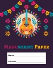 Manuscript Paper: Standard Manuscript Paper. Blank Sheet Music Notebook. Songwriting of Staff Paper Musicians Notebook 12 Staves per Pag Cover Image