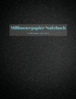 Millimeterpapier Notizbuch Cover Image
