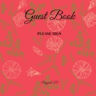 Guest Book- Roses Garden - For any occasion - 66 color pages -8.5x8.5 Inch Cover Image