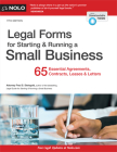 Legal Forms for Starting & Running a Small Business: 65 Essential Agreements, Contracts, Leases & Letters Cover Image