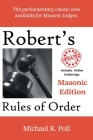 Robert's Rules of Order: Masonic Edition Cover Image