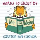 Garfield 2019 Mini Wall Calendar: Words to Laugh By Cover Image