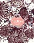 Notebook Dot-Grid: Wedding Valentine Beauty Flowers Cover Cover Image