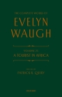 The Complete Works of Evelyn Waugh: A Tourist in Africa: Volume 25 Cover Image