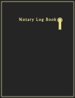 Notary Log Book: Notary Public Logbook, Public notary record book Cover Image