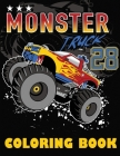 Monster Truck Coloring Book: Big Coloring Book for Boys and Girls Cover Image