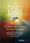 Daily Bible-NIV: In Chronological Order 365 Daily Readings with Devotional Insights to Guide You Through God's Word Cover Image
