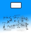 Math Notebook: Grid Paper Notebook Math and Science 110 Pages Large 8.5 x 11 Quad Ruled 5x5 Cover Image